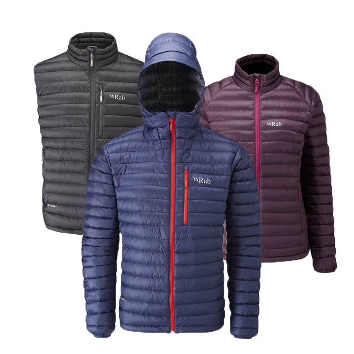 Timeless Essentials: The Rab Microlight Range