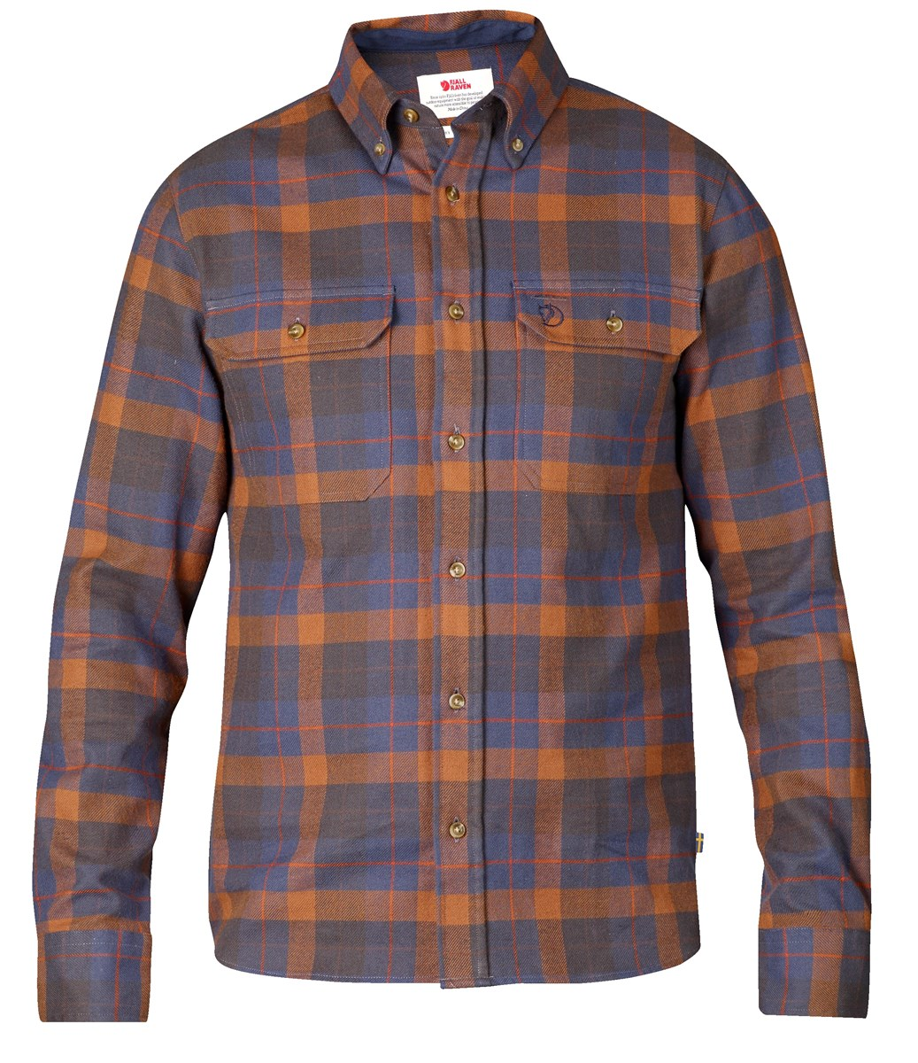Fjallraven Mens Sarek Heavy Flannel Shirt