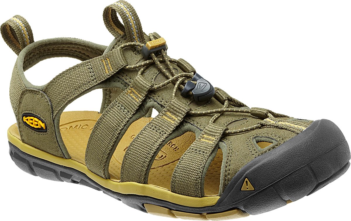 Keen Mens Clearwater CNX Sandals Olive