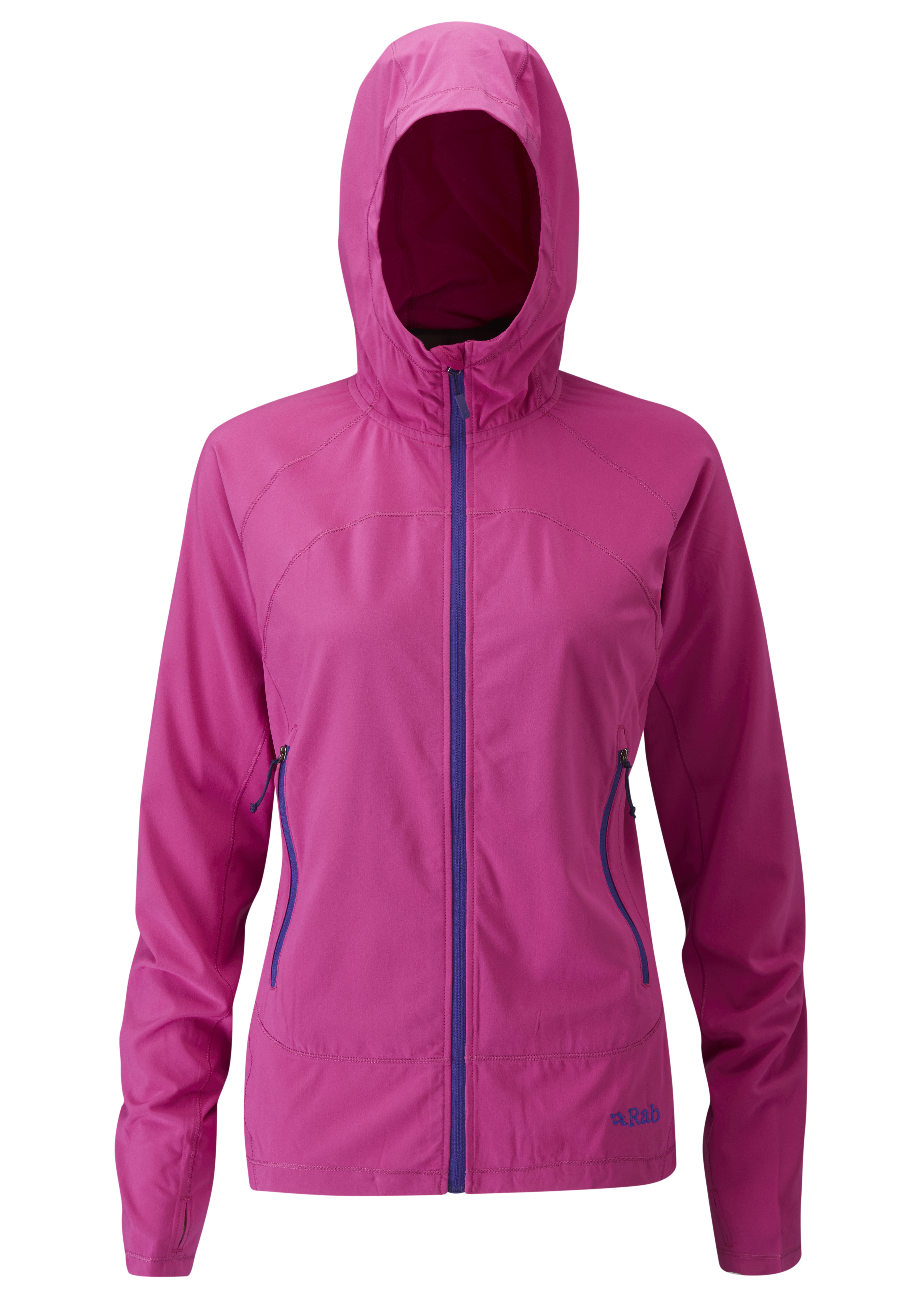 Outdoor Clothing Rab Womens Lunar Jacket Peony