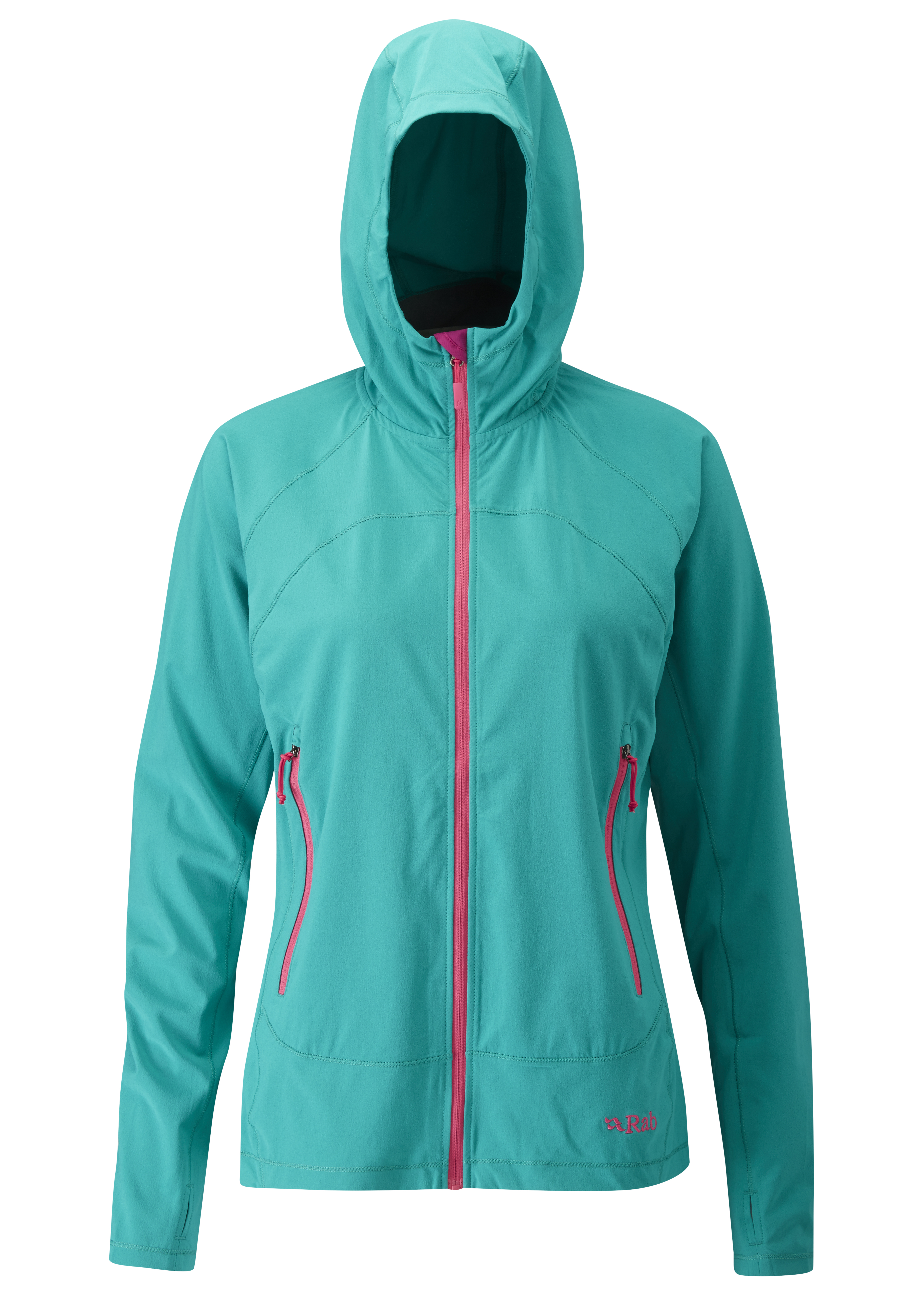 Outdoor Clothing Rab Womens Lunar Jacket Seafoam