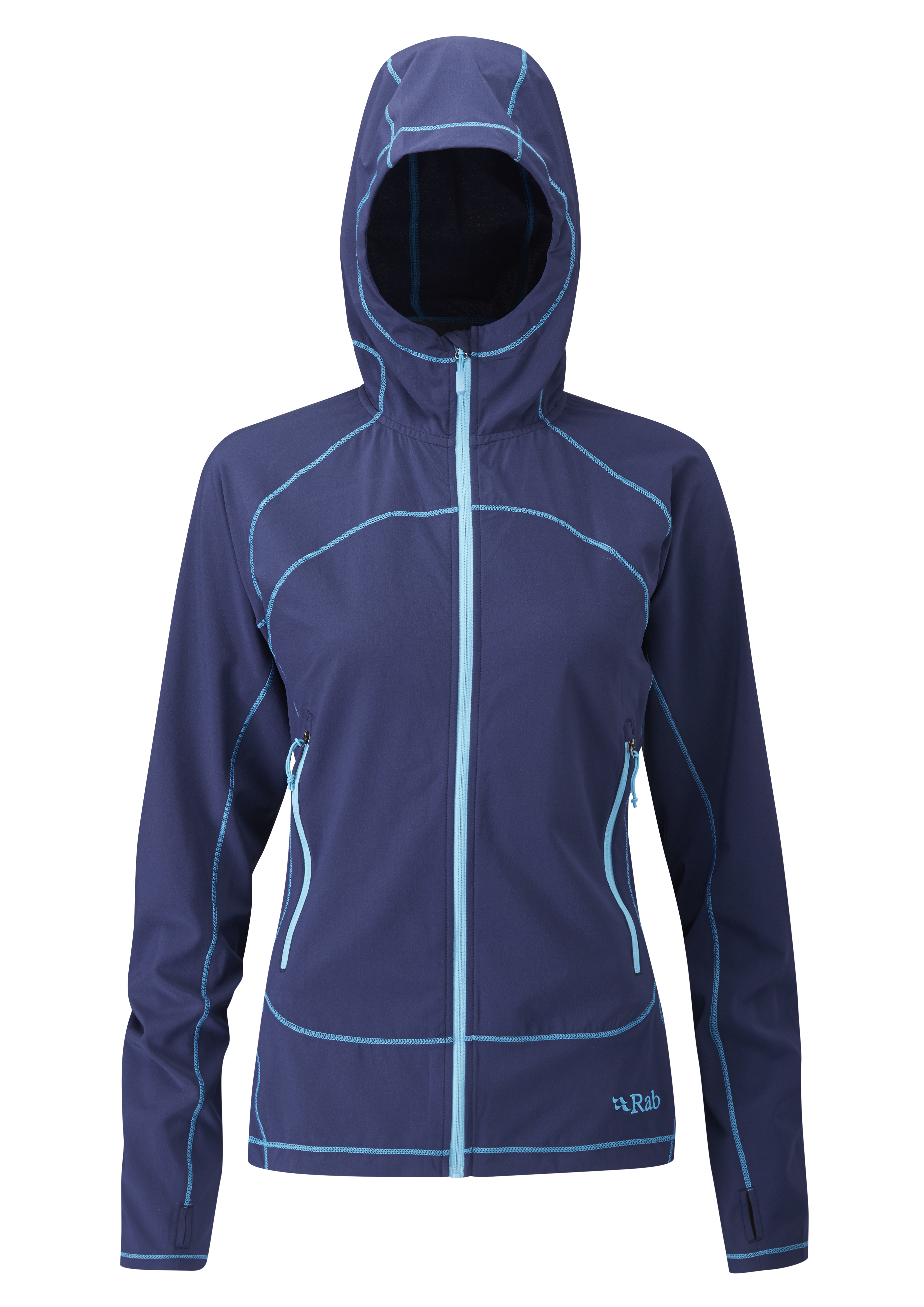 Outdoor Clothing Rab Womens Lunar Jacket Twilight